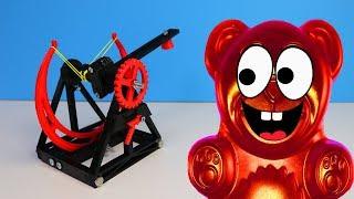 Lucky Bär und das Bonbon Katapult