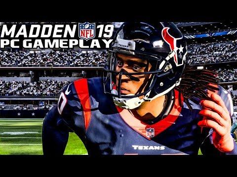 Madden 19 Gameplay - Dallas Cowboys vs Houston Texans