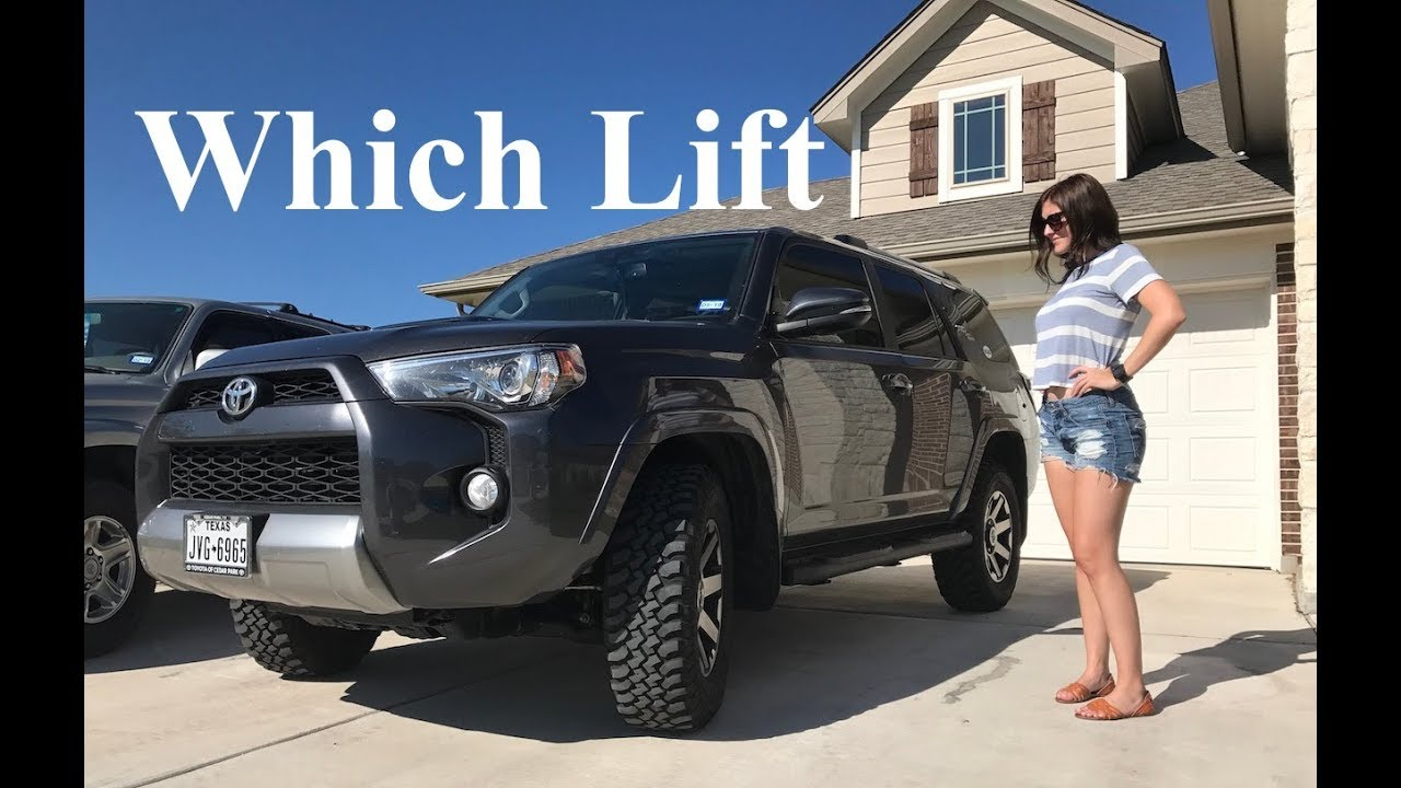 Runner Trd Off Road Premium >> Which Lift for Jeeps? - And what lift for our 4Runner? - JN28 - YouTube