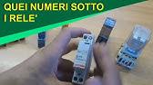 Schema Collegamento Bticino 5860 : Collegamento e spiegazione di un relè bistabile youtube