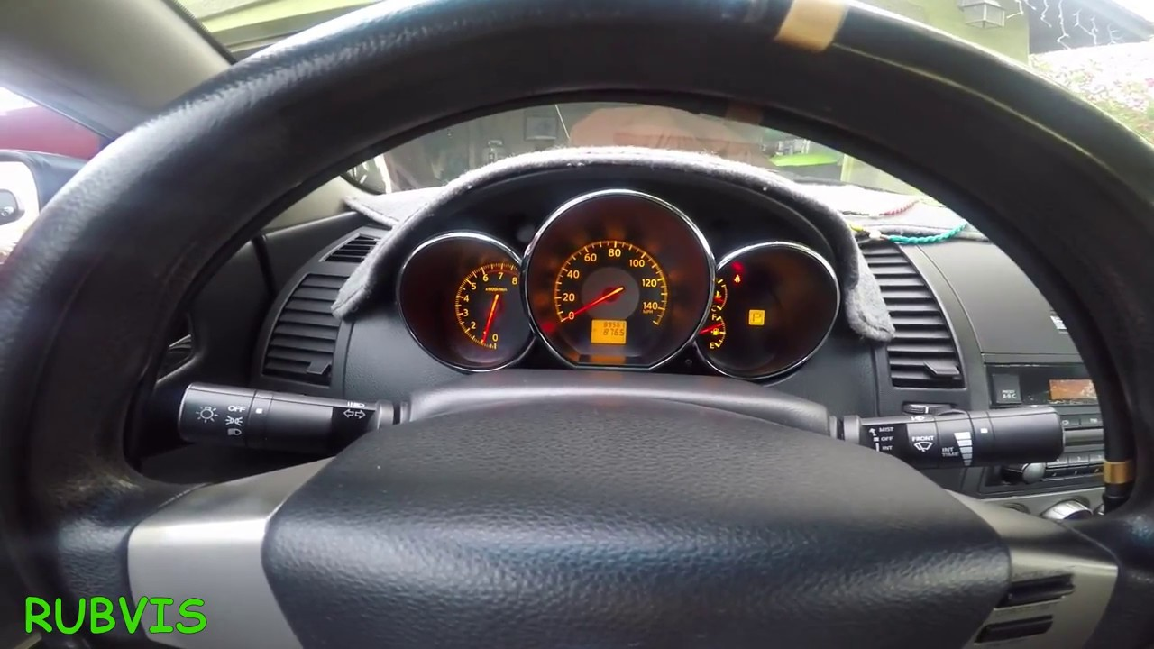 Como Apagar La Luz De La Bolsa De Aire De Un Nissan Youtube