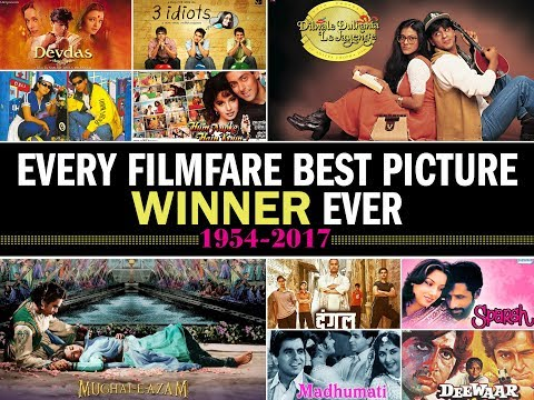 Every Filmfare Best Picture Winner Ever