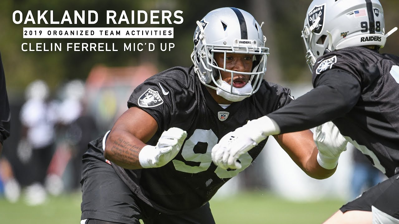 After 'signature game,' Raiders' Clelin Ferrell lets others do the talking