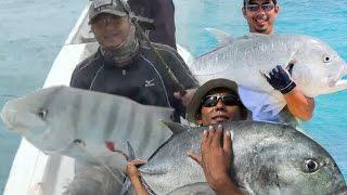 Mancing  Ikan Besar - BIG FISH  in Bangka Islands indonesia