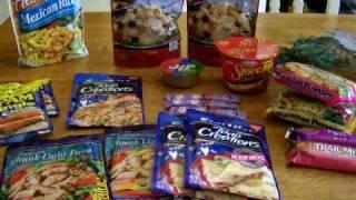 Back Pack Food Part I