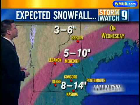 How Much Snow Is In The Forecast