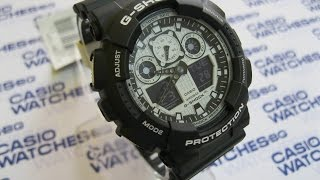 Casio - G-Shock GA-100BW-1AER