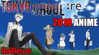 TOKYO GHOUL: RE Anime Announced, Magical Index Season 3 Trailer, New K Anime!