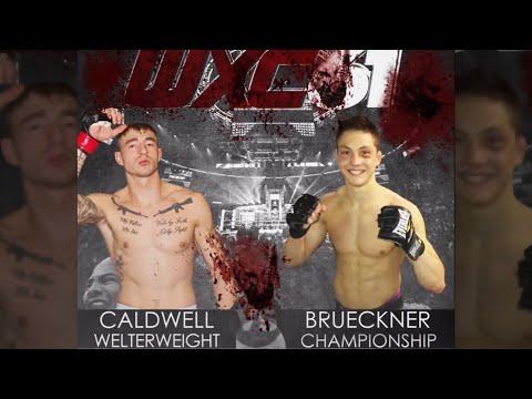 Dean Caldwell Vs Josh Brueckner 170 Belt WXC 61