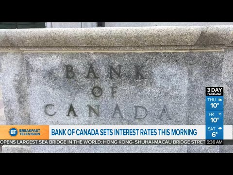 Bank of Canada expected to raise interest rate