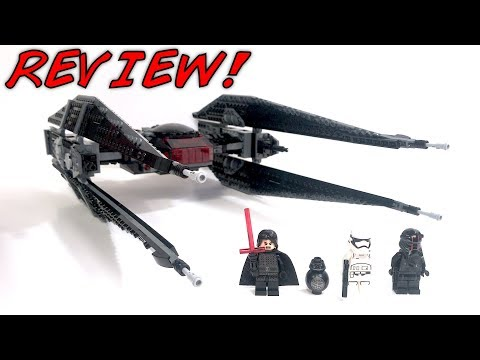 Thumbnail: LEGO Star Wars 75179 KYLO REN'S TIE FIGHTER Review! | The Last Jedi 2017 Set! | BB-9E!