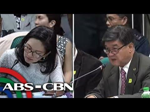 TV Patrol: Risa kay Aguirre: Layuan mo ang Kian case; Aguirre kay Risa: Itigil mo ang drama