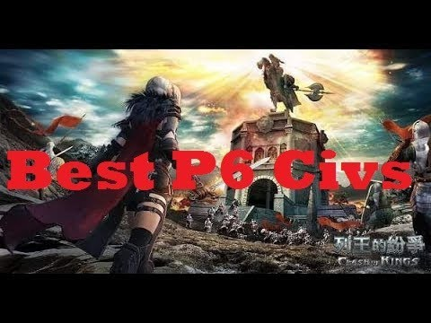 Clash of Kings - Huaxia Civ Explained + Best Civ for P6 Castles