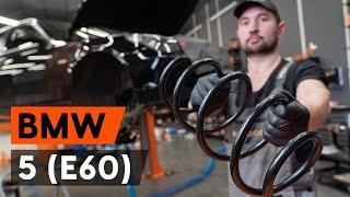 Assista a um guia em vídeo sobre como substituir Cintas de travão em BMW 5 (E60)