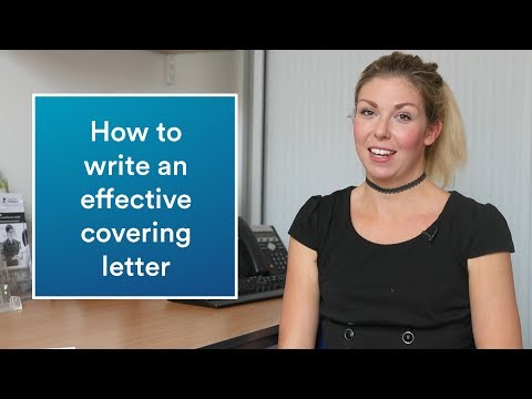 Career advice | How to write an effective covering letter