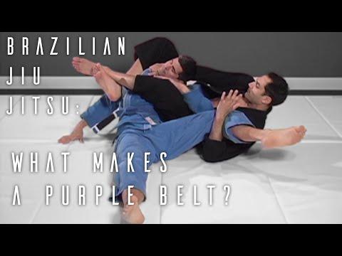 What Makes A Purple Belt? | ROYDEAN.TV