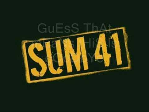 sum 41 - this is goodbye (lyrics)