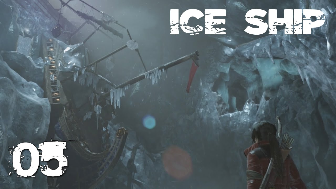 Rise Of The Tomb Raider Gameplay Dewey Let S Play Ice Ship Part 5