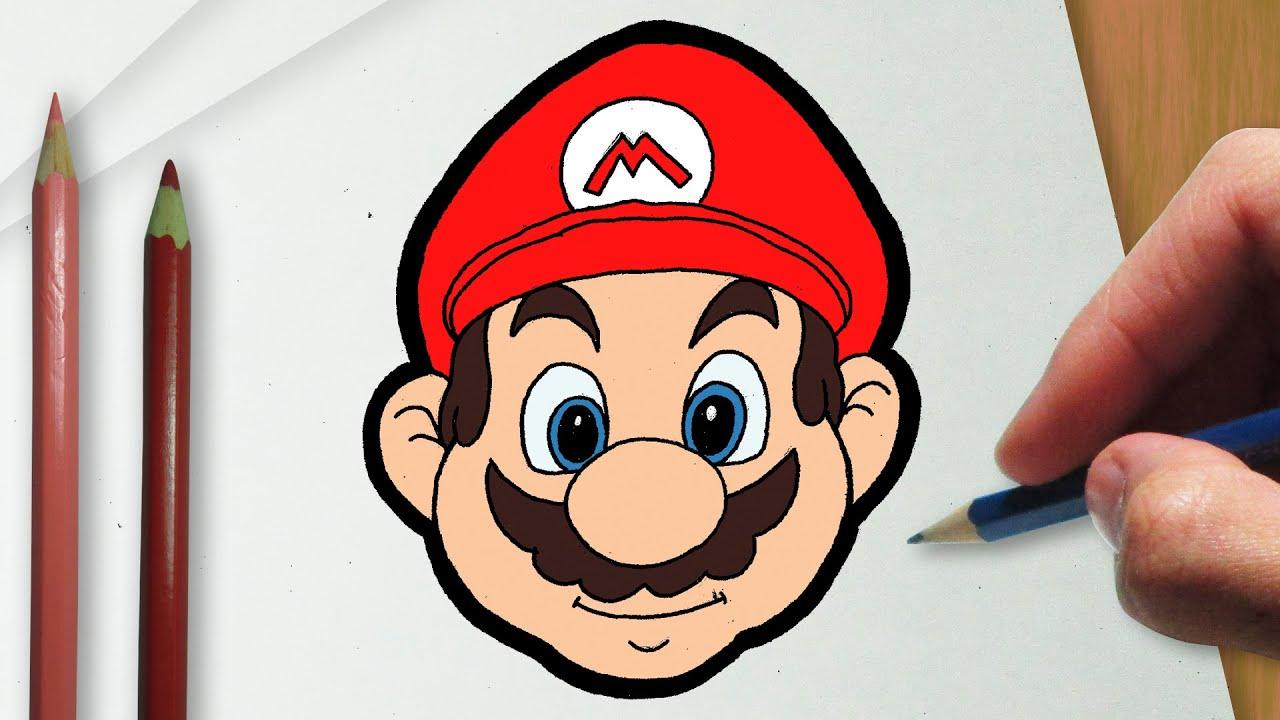 Como Desenhar O Super Mario Youtube