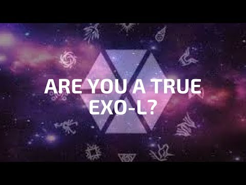 EXO QUIZ 2017: ARE U A TRUE EXO-L? OT12 (SONGS, PICTS, LYRICS)