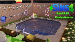 The Sims 4- Speed Build- Giardino Moderno