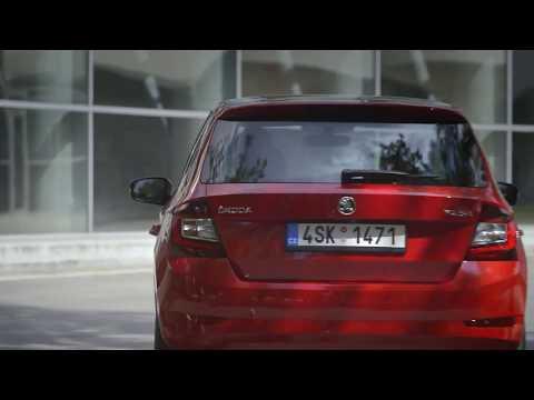 The new Skoda Fabia Trailer