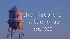 The History of Gilbert, Arizona