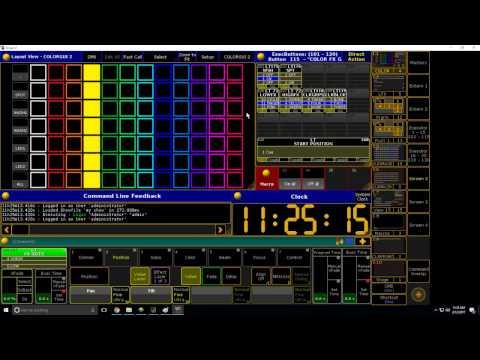 Grand MA 2 Tutorial: Interactive Color Picker