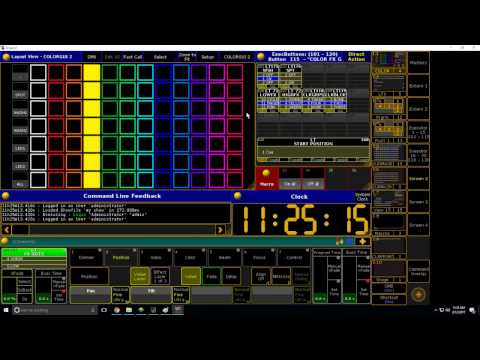 Grand MA 2 Tutorial: Interactive Color Picker