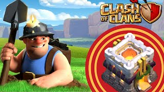 3 stelle a un TH11 solo con minatori | Clash of Clans