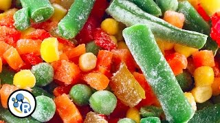 Are Frozen Veggies Less Healthy? - Food Myths #2