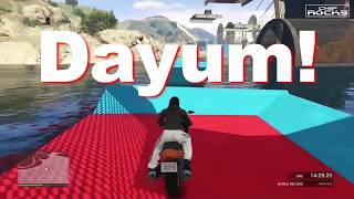 MrChiprocks1 - GTA Moto Parkour Race | Total Wipeout | Hakuchou | MATAFAKA Preview