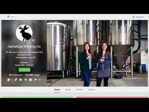 Google My Business Stories Jackalope Brewing Co