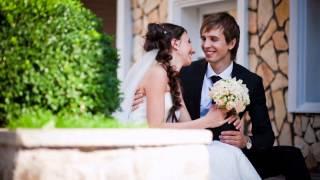 Свадебная фотосессия в платье Calma