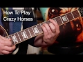 Crazy Horses The Osmonds Guitar Lesson mp3