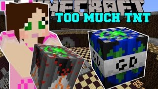 Minecraft: WORLD ENDING TNT (GLOBAL DISASTER TNT!) Mod Showcase