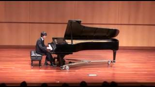 2013/12/08 Jeffrey annual piano recital.