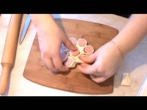 Сосиски в тесте рецепт с фото в духовке Чудо Повар