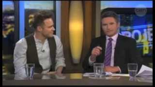 Olly Murs - Interview (The Project)