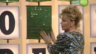 Wheel of fortune - old puzzleboard