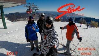 Snowboarding Stowe Mountain Resort, VT - 2017