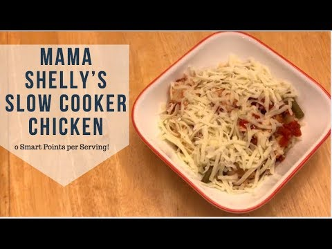 Mama Shelly's Slow Cooker Chicken | Hungry Girl| Weight Watchers Zero Points