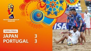 Japan v Portugal [Highlights] - FIFA Beach Soccer World Cup Paraguay 2019™
