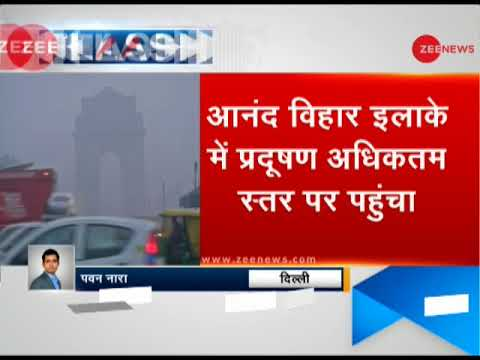 Delhi pollution again reaches emergency level   दिल्ली में प्रदूषण इमरजेंसी स्तर पर पहुंचा