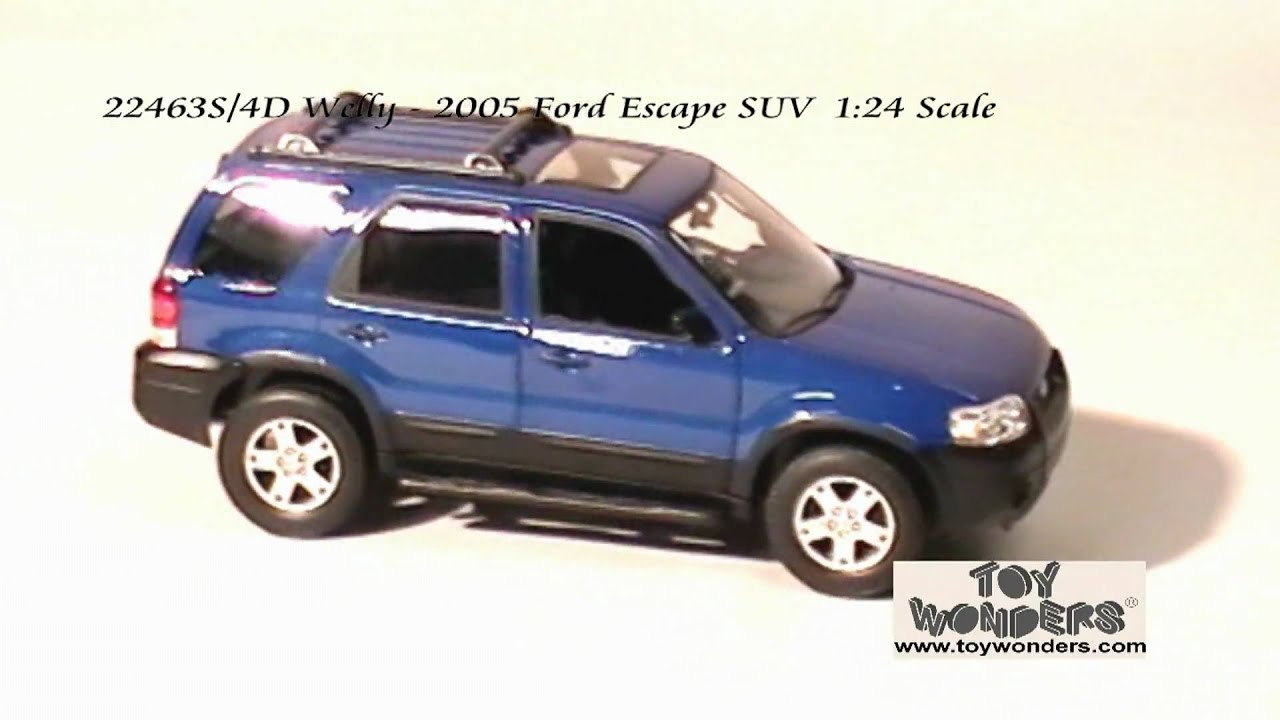 22463s 4d Welly 2005 Ford Escape Suv 124 Cast Whole Mpg