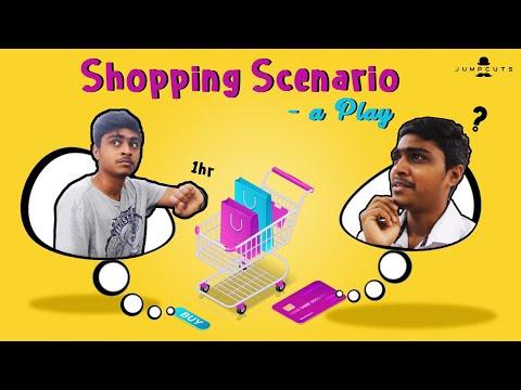 Shopping Scenario - a Play