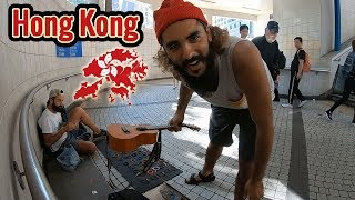 Live CHEAP in Hong Kong !! They Destroy Our Tents ~ 64