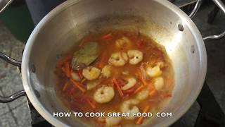 Ginisang Repolyo Na Hipon Recipe Tagalog Pinoy Filipino Prawn Shrimp Cabbage