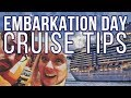 10 Tips for a Stress Free Cruise Embarkation | Sean and Stef | Cruise Tips