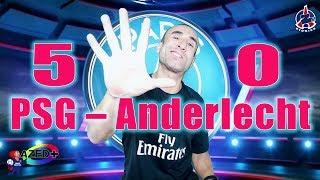 PSG – Anderlecht 5-0 - Azéd Stories